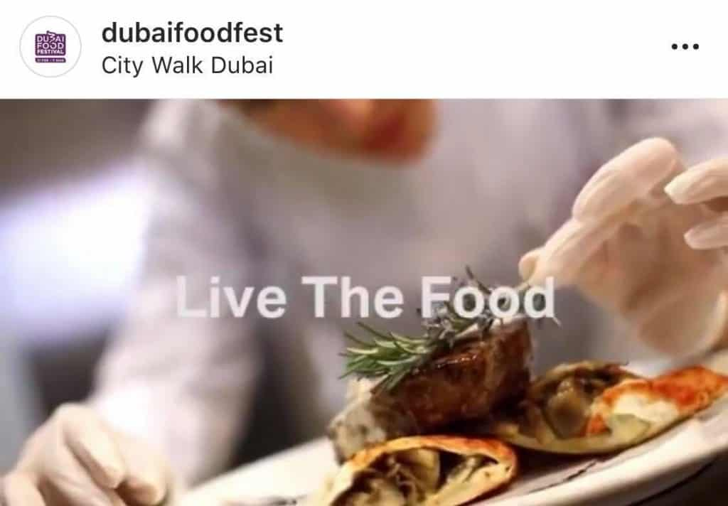 Learn to cook at the Dubai Food Festival