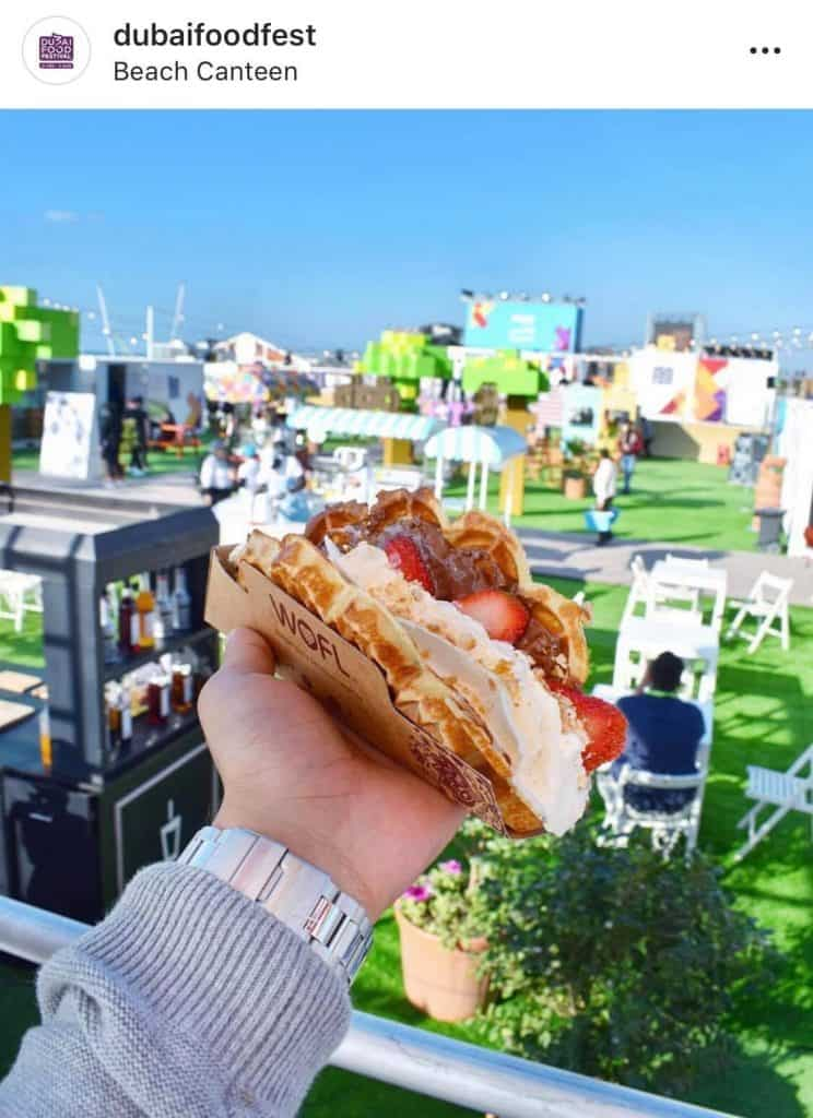 Beach Canteen at the Dubai Food Festival