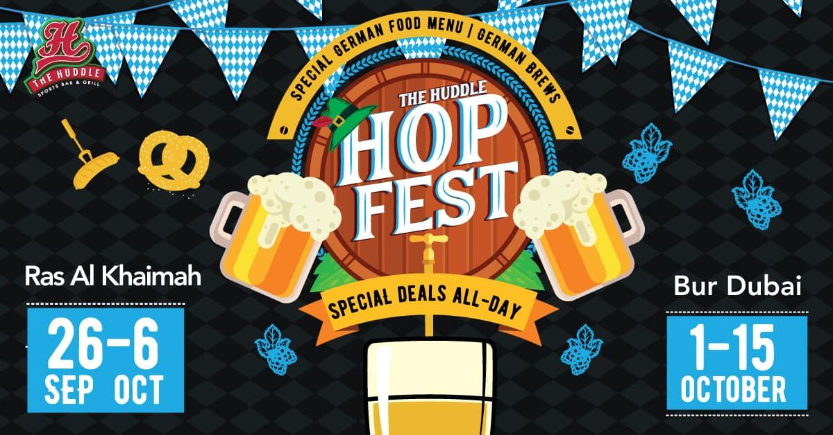 Hopfest at The Huddle Sports Bar - Oktoberfest