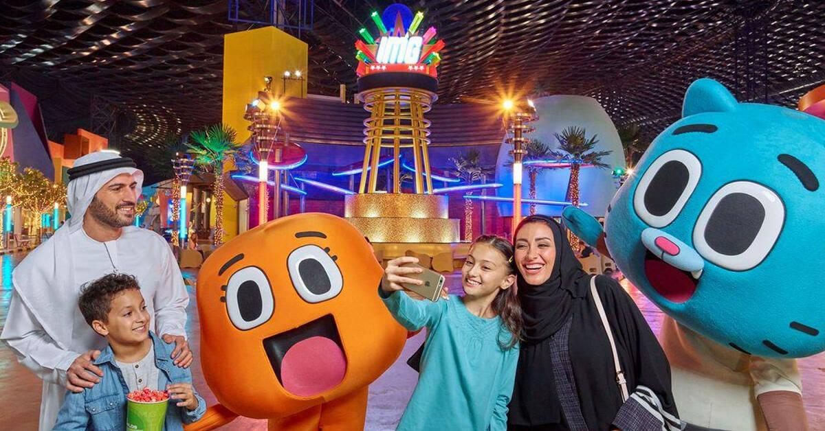 IMG Worlds of Adventure, Saudi National Day Offer, Dubai