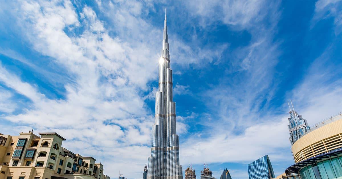 The Burj Khalifa - Image Credits -Tomasz Czajkowski
