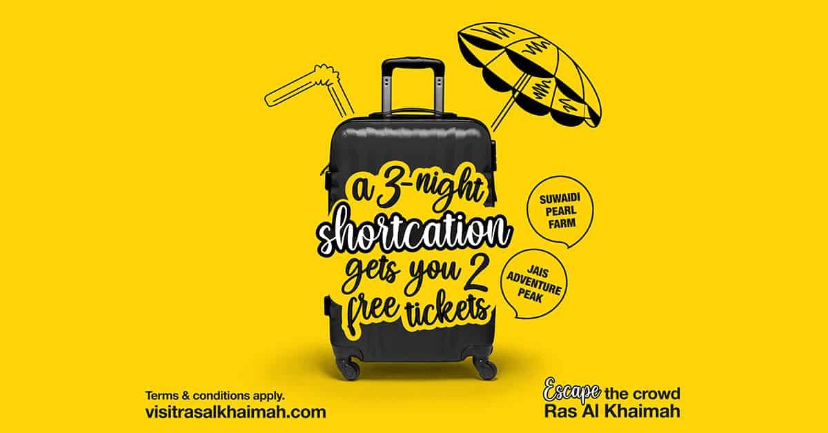 Shortcation Offer with Visit Ras Al Khaimah