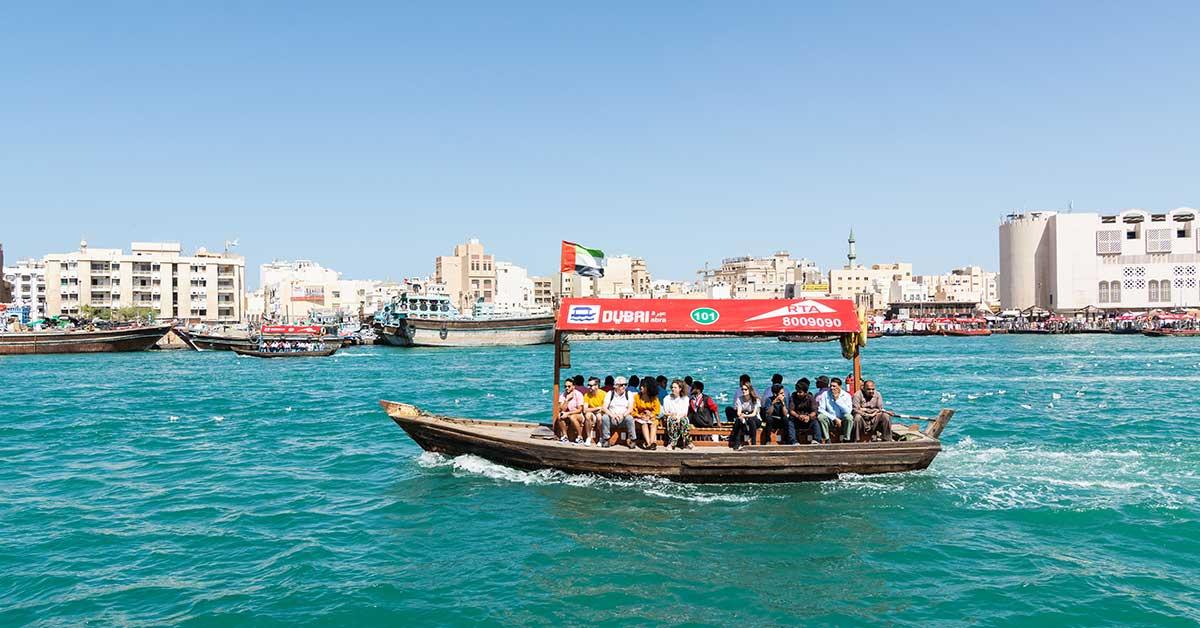 Bur Dubai Abra Dock - Image Credits - leonov.o