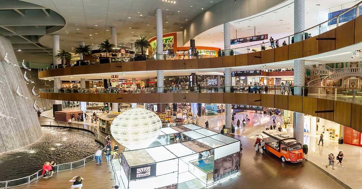 The Dubai Mall - Image credits - Nadezda Murmakova