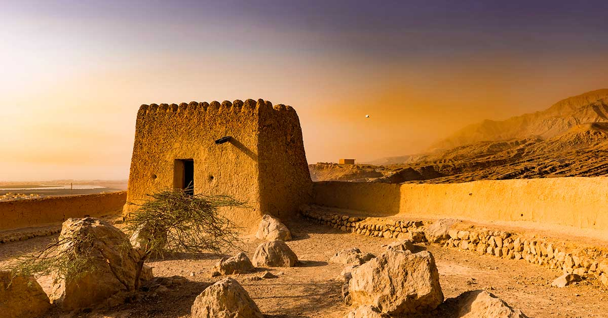 Dhayah Fort - Image Credits - solkafa